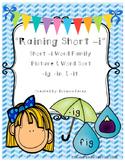 Raining Short -i Picture & Word Sort