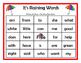Raining Sight Words Bingo