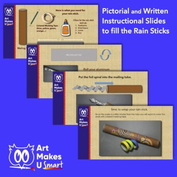 Rainstick Easy Art Lesson Aboriginal Art Powerpoint