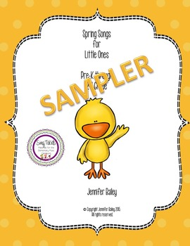 Spring Songs and Activities SAMPLER