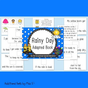 Weather Adapted Book: Rainy Day