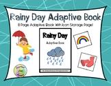 Rainy Day Adaptive Book - Spring Adaptive Book Series