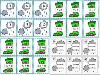 Rainy Day Addition CCSS
