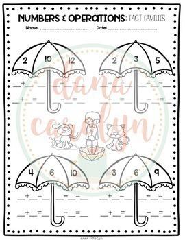 Rainy Day Review: ELA and Math {No Prep, Print and Go}