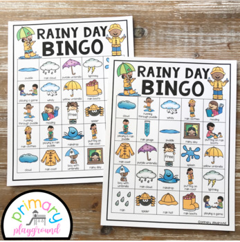 Rainy  Day Bingo