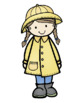 Rainy Day Buddies Spring Clip Art - Whimsy Workshop Teaching
