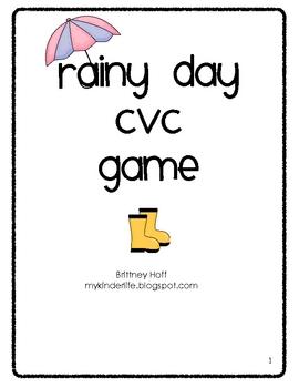 Rainy Day CVC Game
