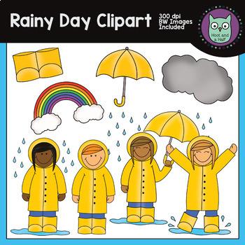 Rainy Day Spring Clipart