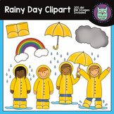 Rainy Day Spring Clipart