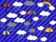Rainy Day Clipart: Primary Set