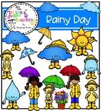 Rainy Day Clipart Set