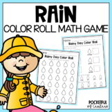 Rain / Weather Color Roll Counting Game