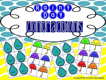 Rainy Day Contractions Memory