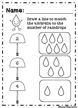 Rainy Day Counting
