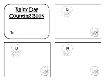 Rainy Day Counting Book 12-16