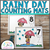 Rainy Day Counting Mats 1 - 20