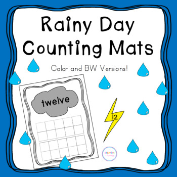 Rainy Day Counting Mats