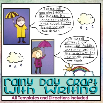 Rainy Day Craft & Writing