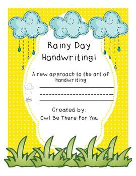 Rainy Day Handwriting