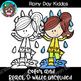 Rainy Day Kiddos Clipart {Scrappin Doodles Clipart}