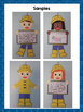 Rainy Day Kids {A Writing Craftivity}