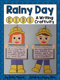 Rainy Day Kids {A Writing Craftivity}