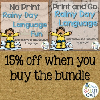 Rainy Day Language Bundle