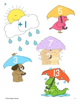Rainy Day Math (+1 and +2)