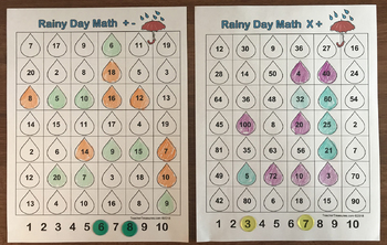 Rainy Day Math Game