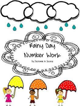 Rainy Day Number Work