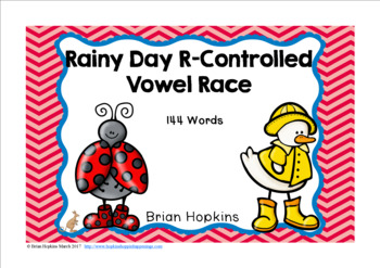 Rainy Day R-Controlled Vowel Race