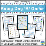 """R Articulation Game: 110 Picture Cards for """"R"""" -Speech Therapy"""