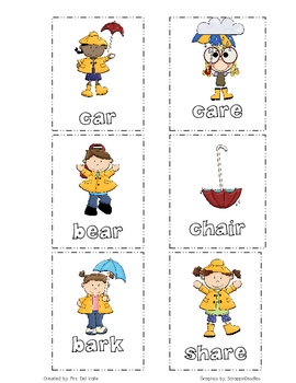 """Rainy Day R-Influenced """"A"""" Word Sort"""