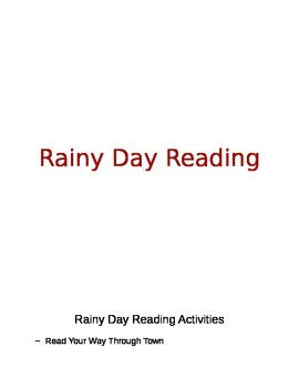 Rainy Day Reading Activities