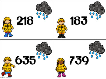 Rainy Day Regrouping with 3-digit Addition and Subtraction