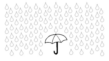 Rainy Day Reinforcer Activity - NO PREP