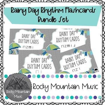 Rainy Day Rhythm Cards Bundle Set