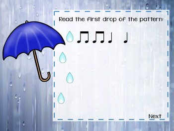 Rainy Day Rhythms {A Bundled Set of Games for Rhythm Practice}