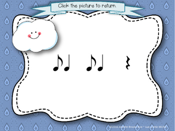 Rainy Day Rhythms--Reading Practice Interactive Game {syncopa}
