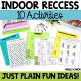 Indoor Recess Ideas
