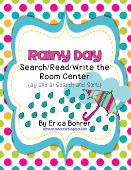 Rainy Day Search-Read-Write The Room Center