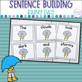 Rainy Day Sentence Scrambles