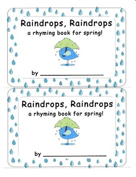 Spring Rainy Day Emergent Reader Set