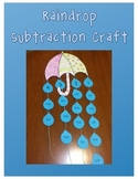 Rainy Day Subtraction Craft