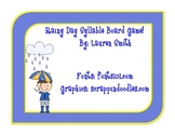 Rainy Day Syllable Board Game