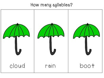 Rainy Day Syllables