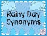 Rainy Day Synonyms FREEBIE