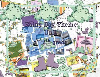 Rainy Day Theme Unit