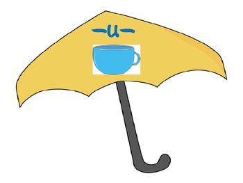 Rainy Day Vowel Practice