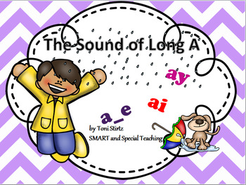 Long A Phonics Orton Gillingham SMART Board Games and Activities